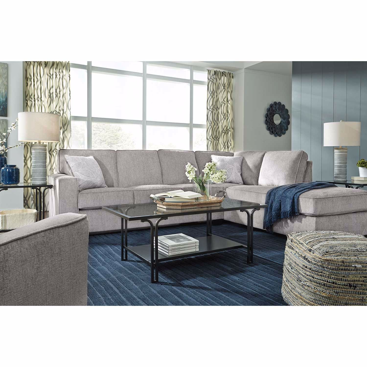 Picture of Altari Alloy 2 PC Sectional with RAF Chaise