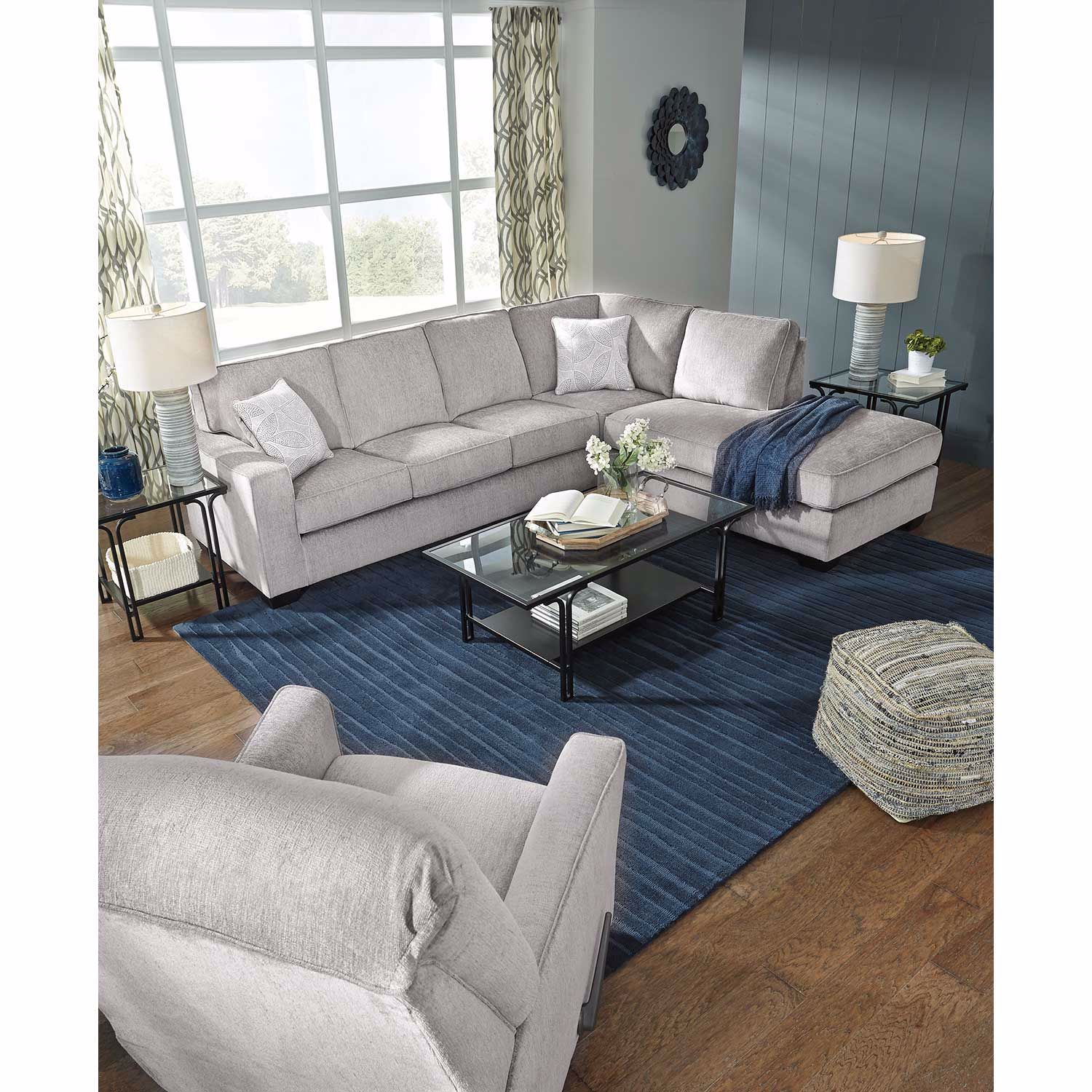 Picture of Altari Alloy 2 PC Sleeper Sectional with RAF Chaise