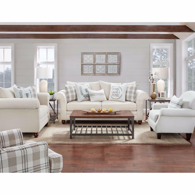 The Farmhouse Plaid Accent Chair