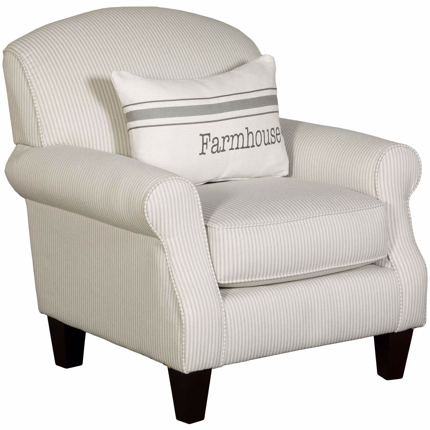Picture of The Farmhouse Stripe Accent Chair