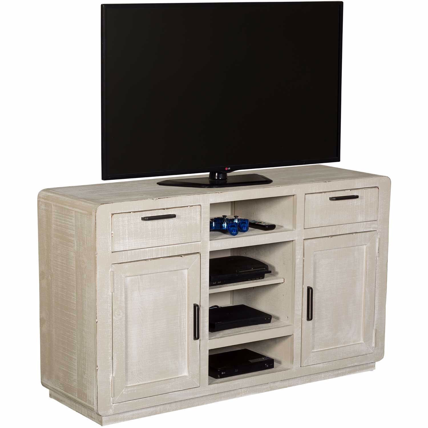 "Picture of Allure Gray 54"" TV Console"