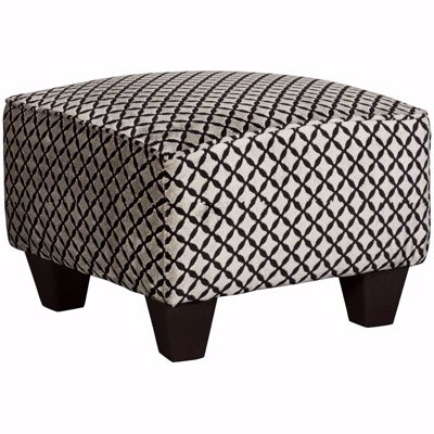 Picture of Odette Diamond Accent Ottoman