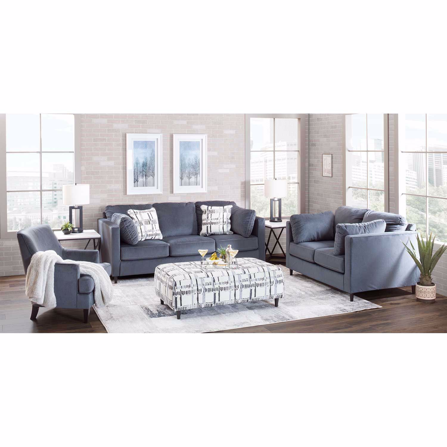 Picture of Kennewick Paint Strokes Accent Chair