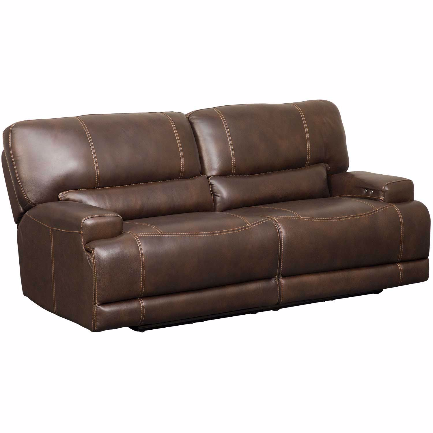 Picture of Jax Brown Leather Power Recline Sofa