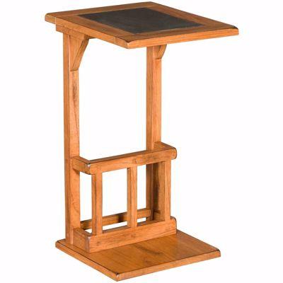 Picture of Santa Fe Rustic Oak Sofa Mate Table