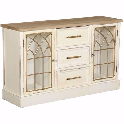 Picture of Antique Scroll Cabinet