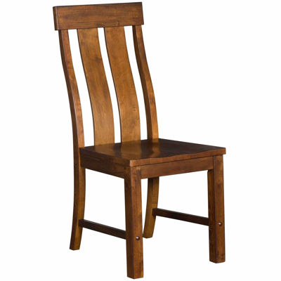 Picture of Hunderson Slatback All Wood Side Chair