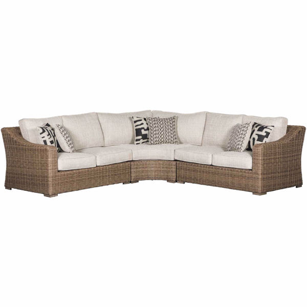 Picture of Beachcroft 3 Piece Outdoor Patio Sectional