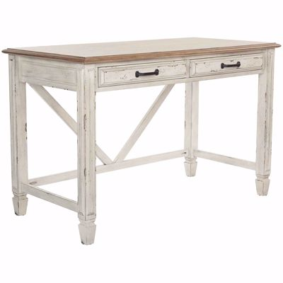 Picture of White Writing Table