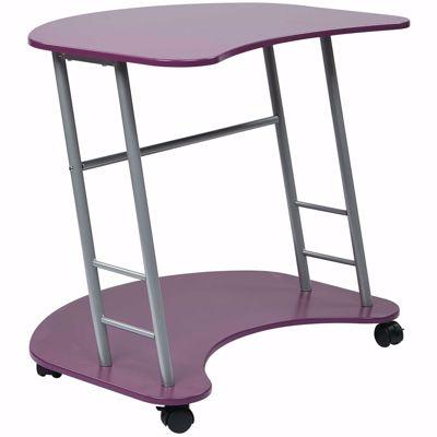 Picture of Purple Computer Desk