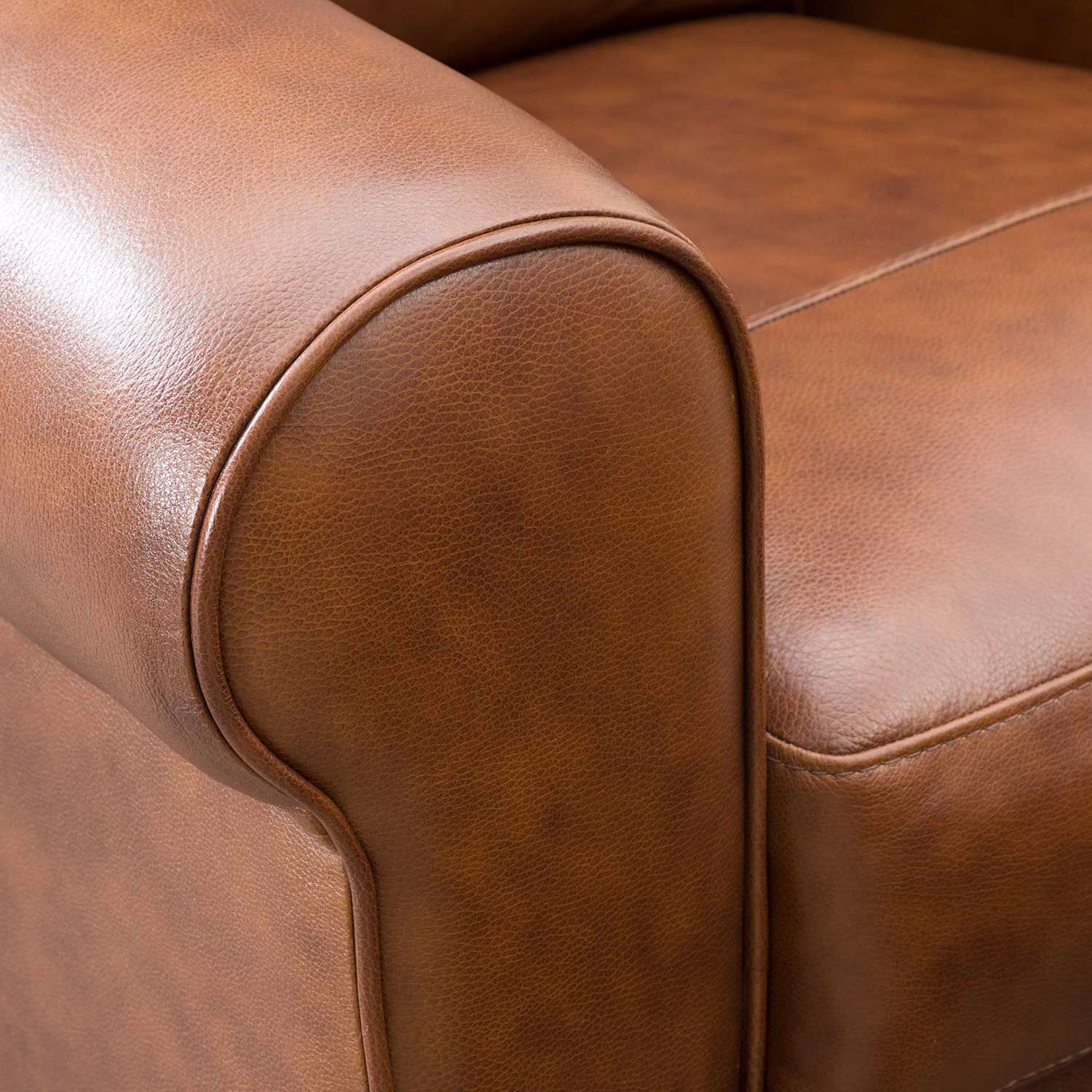 Picture of Whisky Italian All Leather Recliner