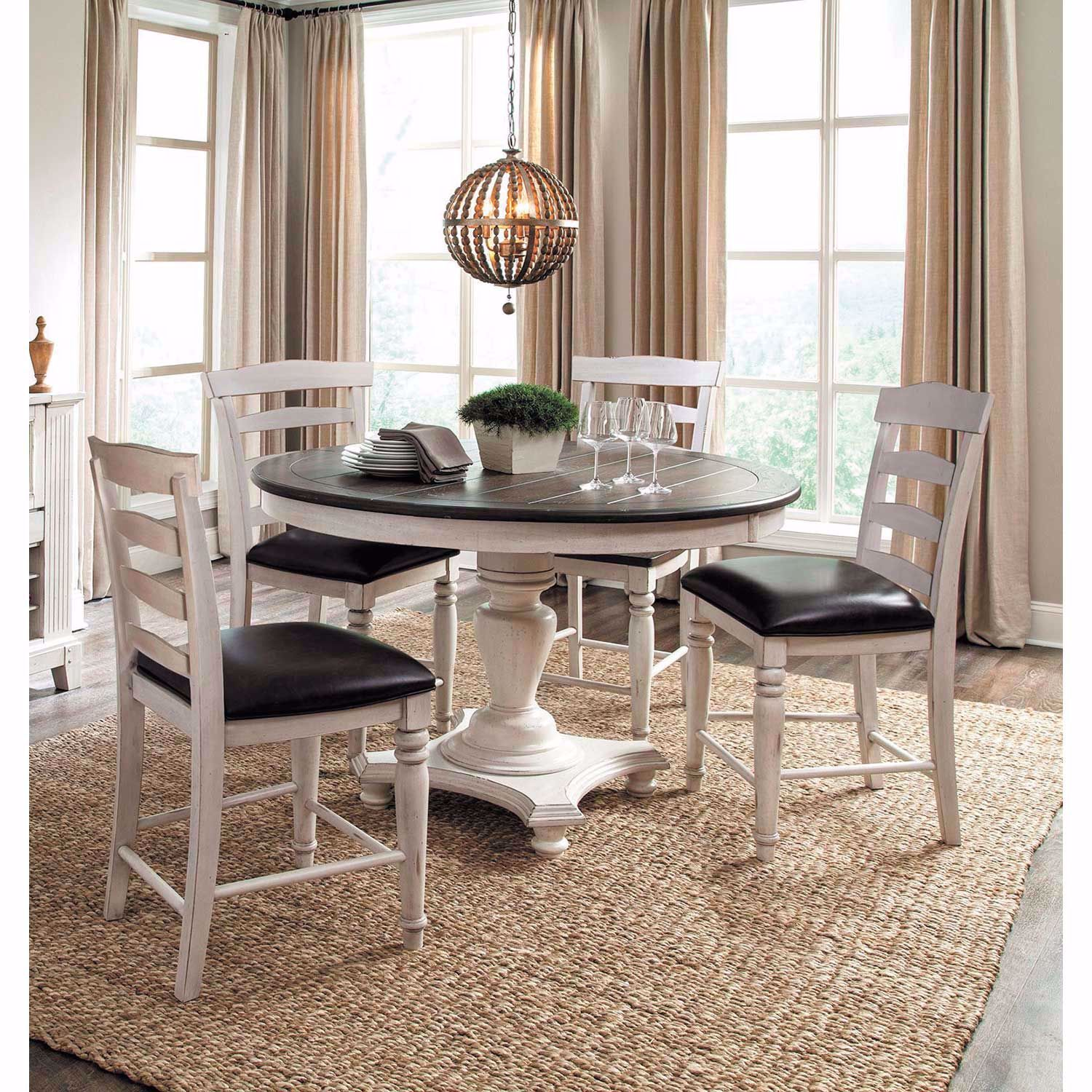 Picture of French Country Counter Height Dining Table