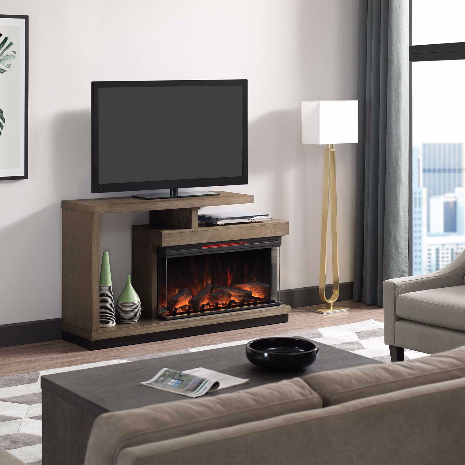 Picture of Wright Media Fireplace