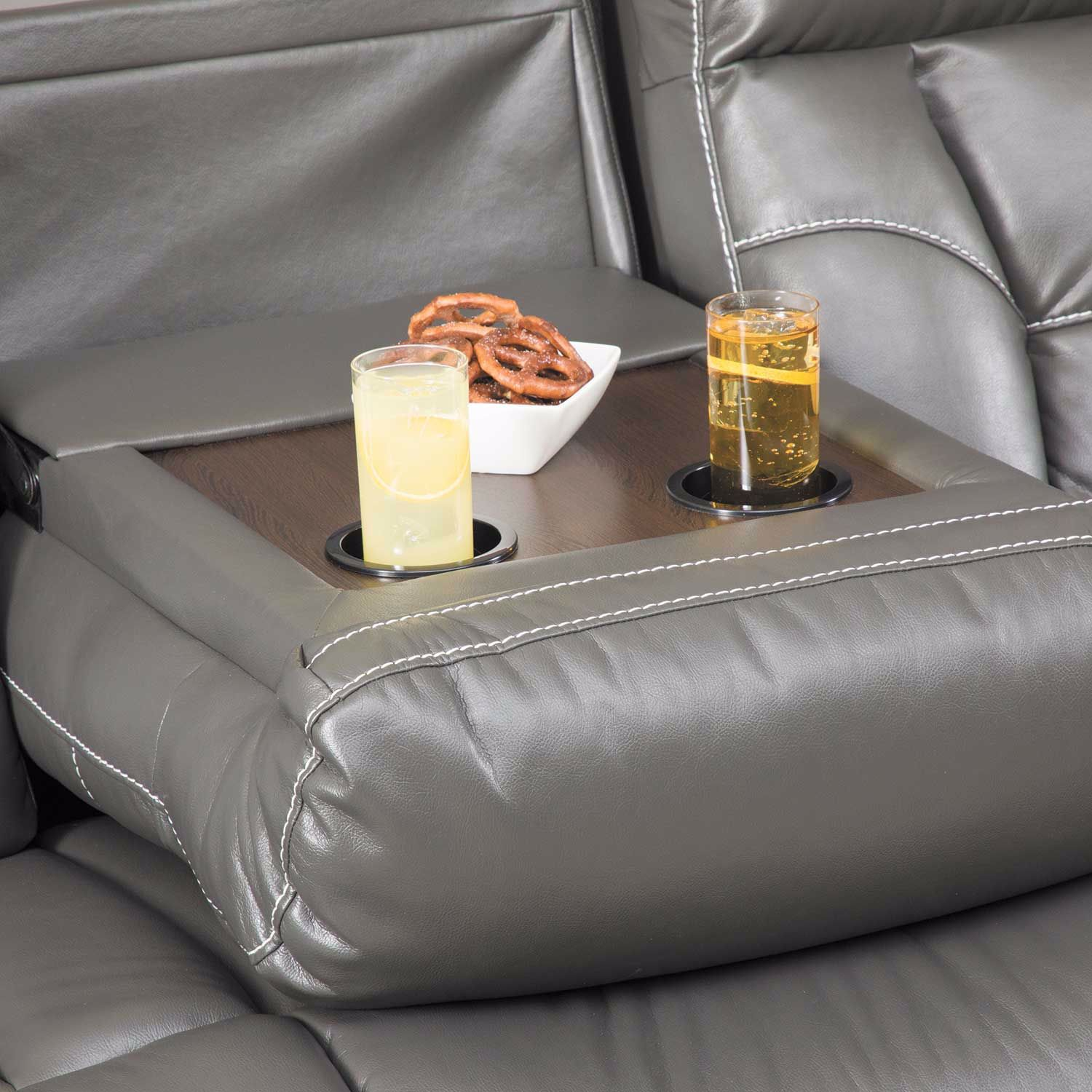 Picture of Parker Reclining Sofa with Drop Table