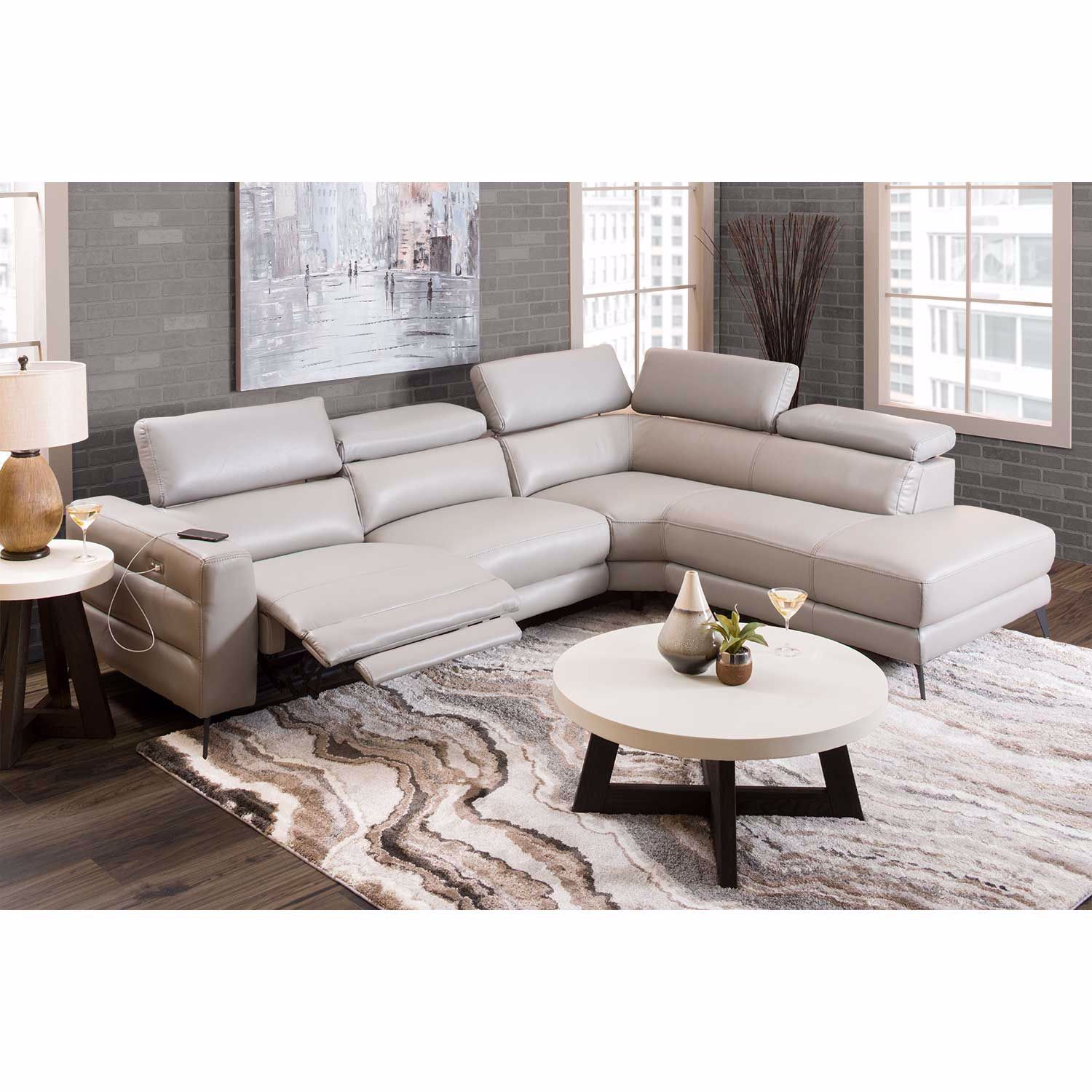 Picture of Zanda 2PC Power Recline Sectional