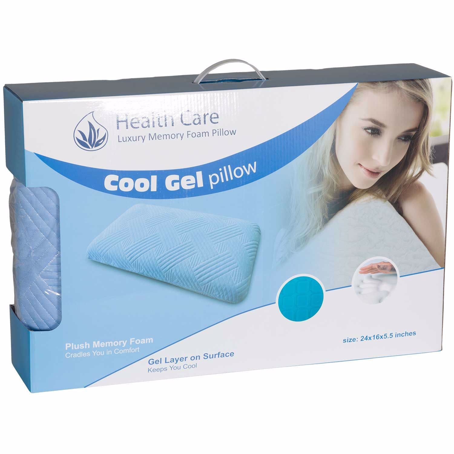Picture of Queen Cool Square Gel Pillow