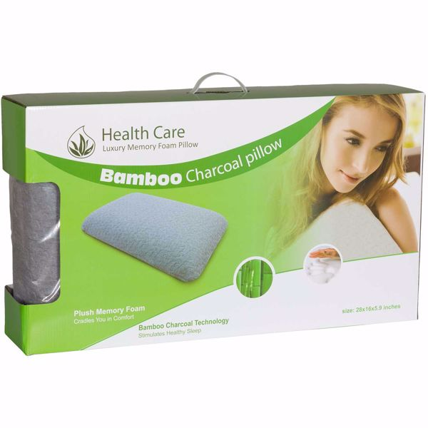 Picture of Queen Bamboo Charcoal Pillow