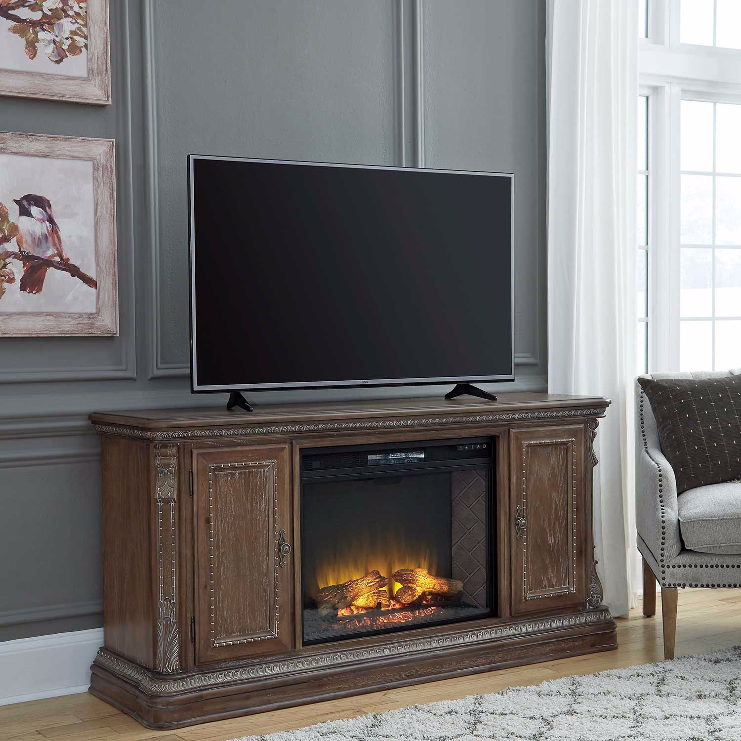 Picture of Charmond Fireplace Console