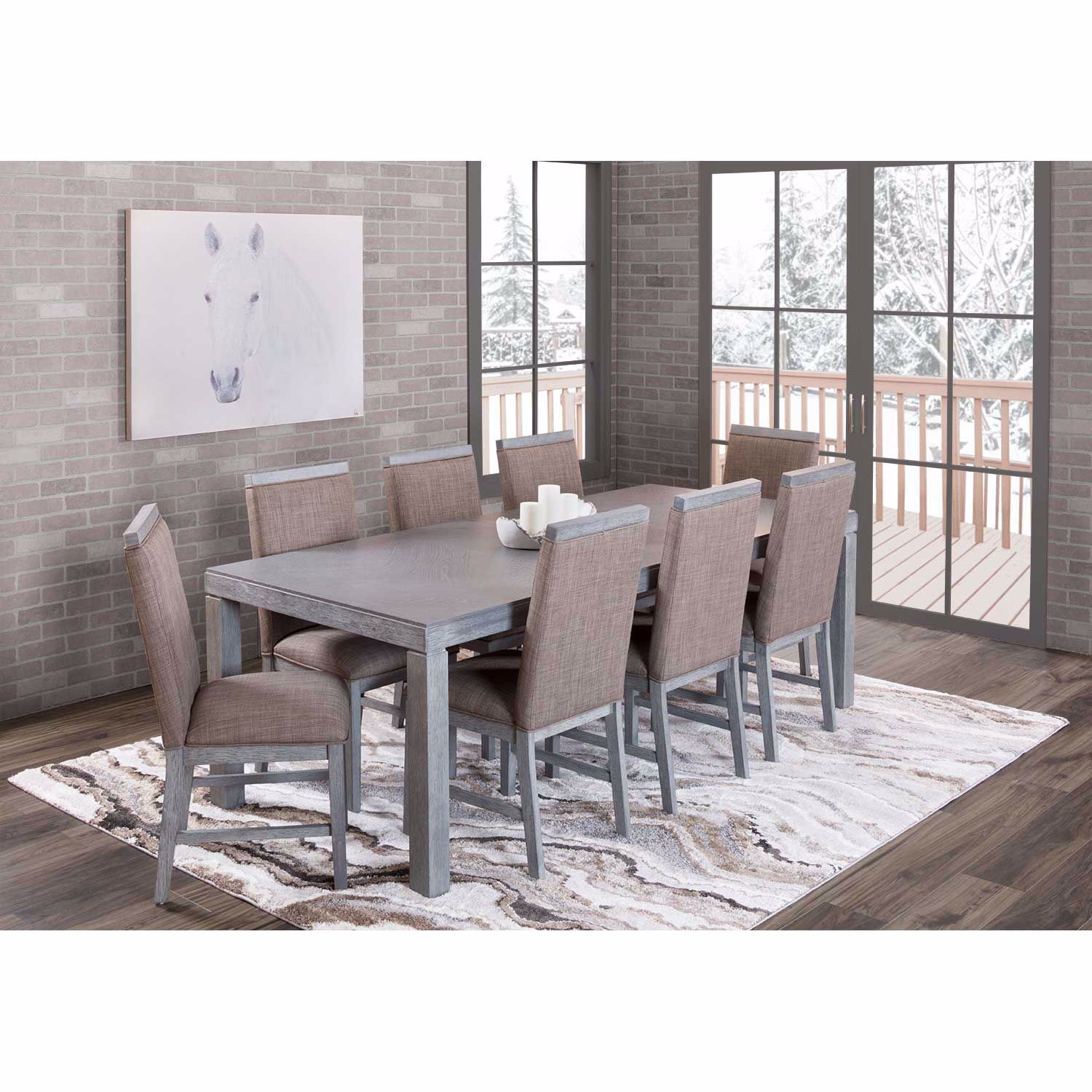 Picture of Parson 9 Piece Dining Set
