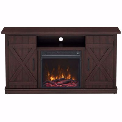 """Picture of Cottonwood 47"""" TV Stand with Fireplace *D"""