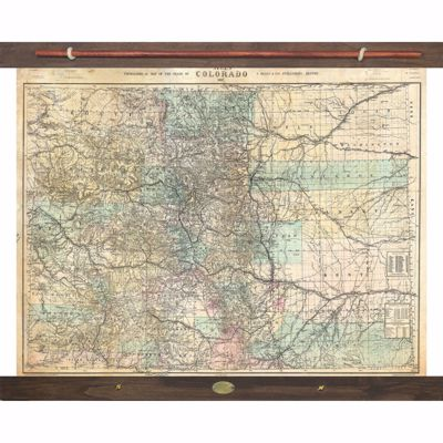Picture of Colorado Topographical Map