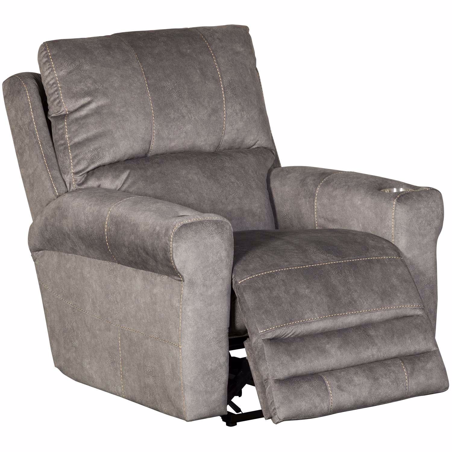 Picture of Vance Graphite Power Recliner with Voice Activated Headrest