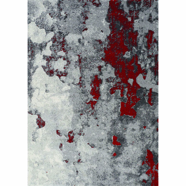 Picture of Freemont Red Organic 8x11 Rug