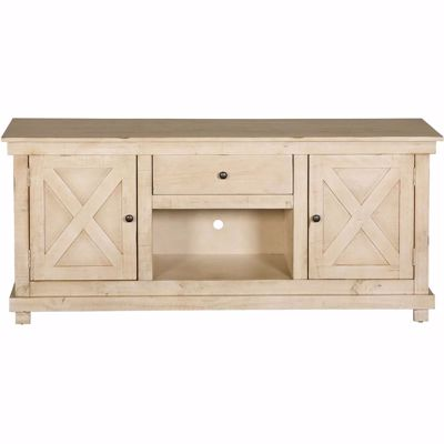 Picture of X Door TV Console, Eggshell