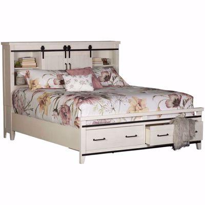Picture of Dakota King Bookcase Storage Bed
