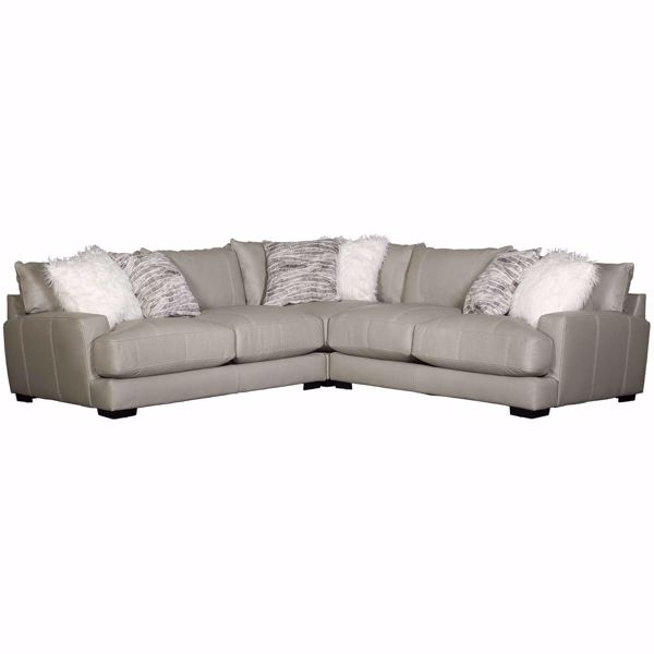 Picture of Antonia Leather 3 PC Sectional