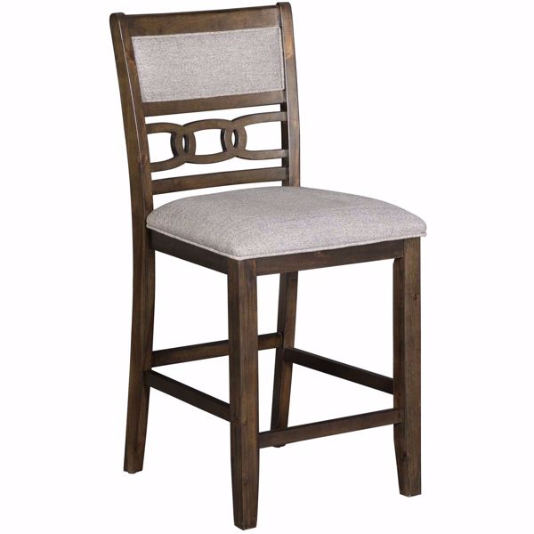 Picture of Amherst Upholstered Counter Barstool
