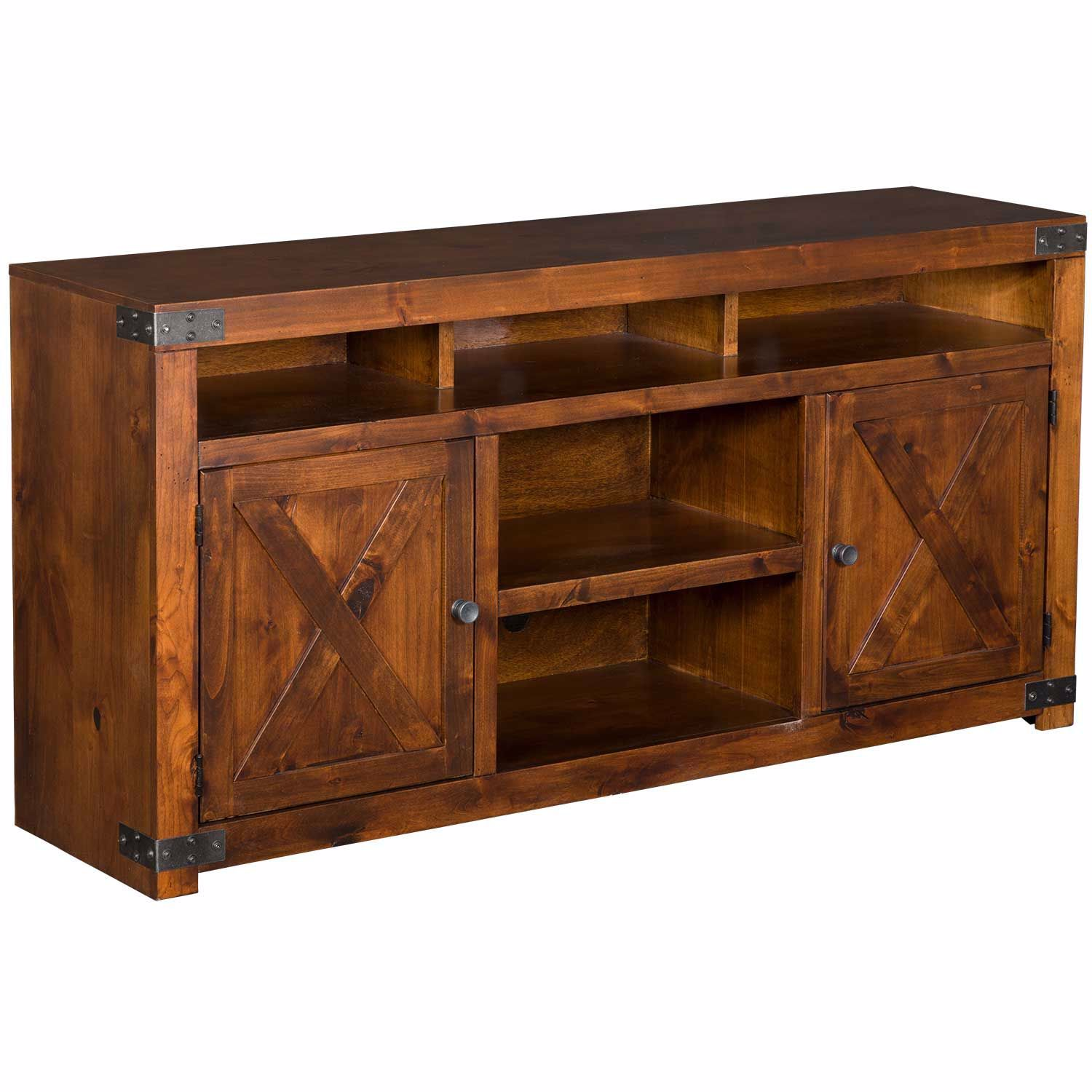"Picture of Urban Farmhouse 65"" TV Console, Fruitwood"
