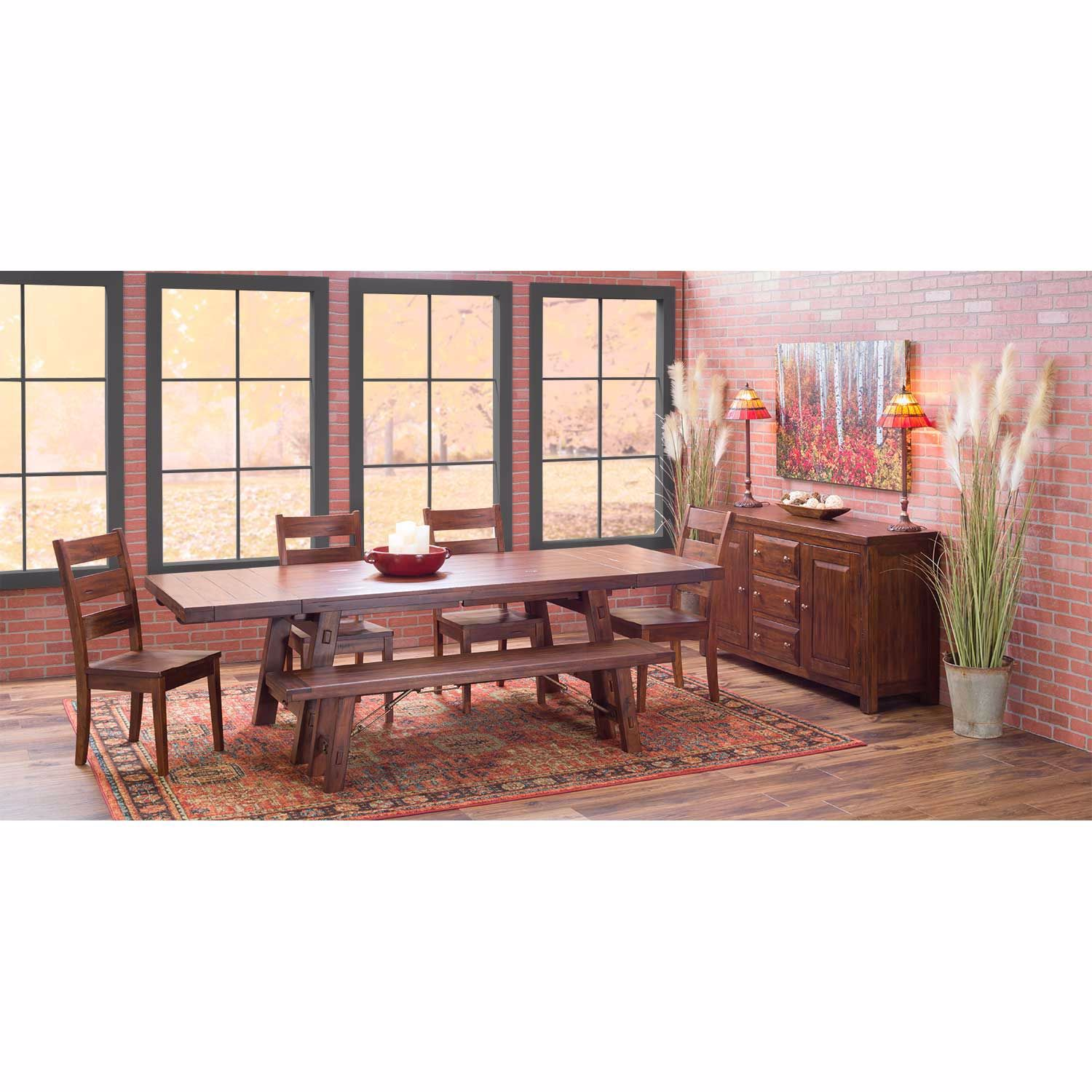 Picture of Tuscany Ladderback Wood Side Chair