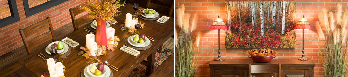 Decorate Your Dining Room for Autumn