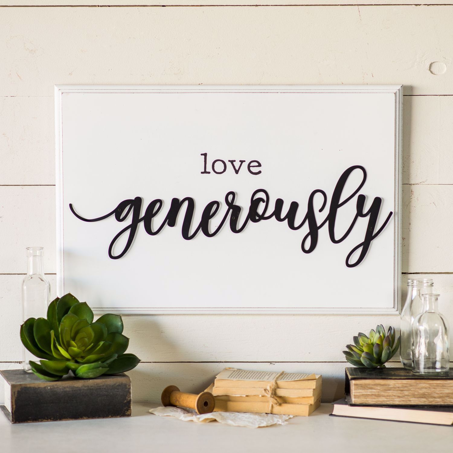 Picture of Love Generously Sign