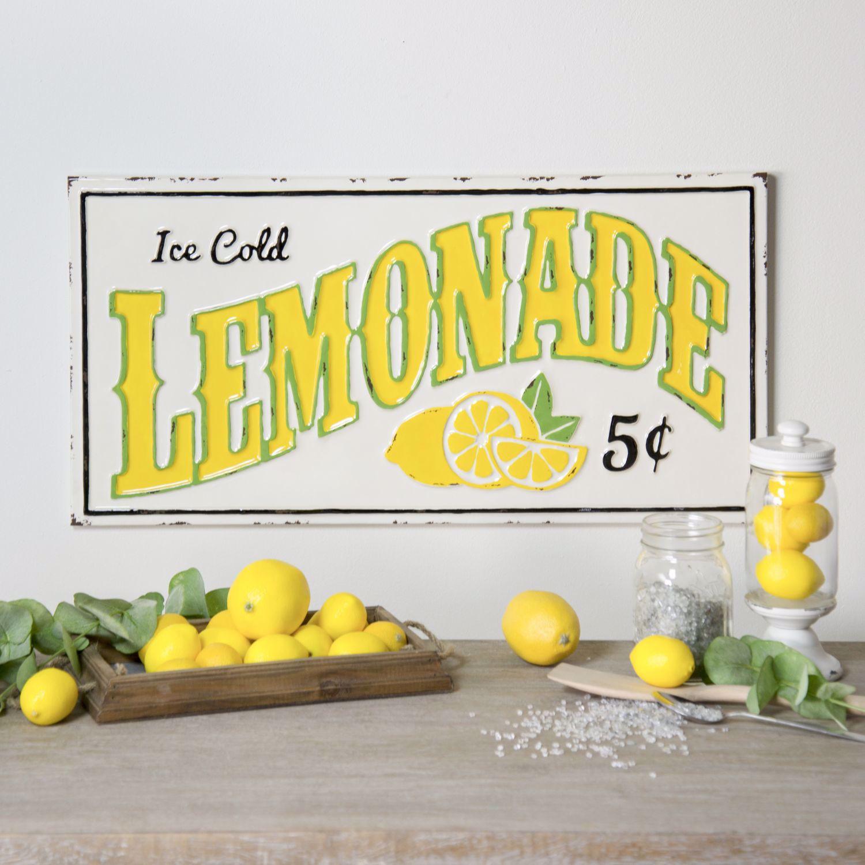 Picture of Lemonade Metal Sign