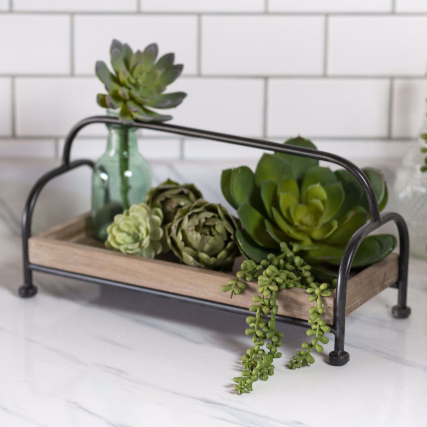 Picture of Metal Wood Tray