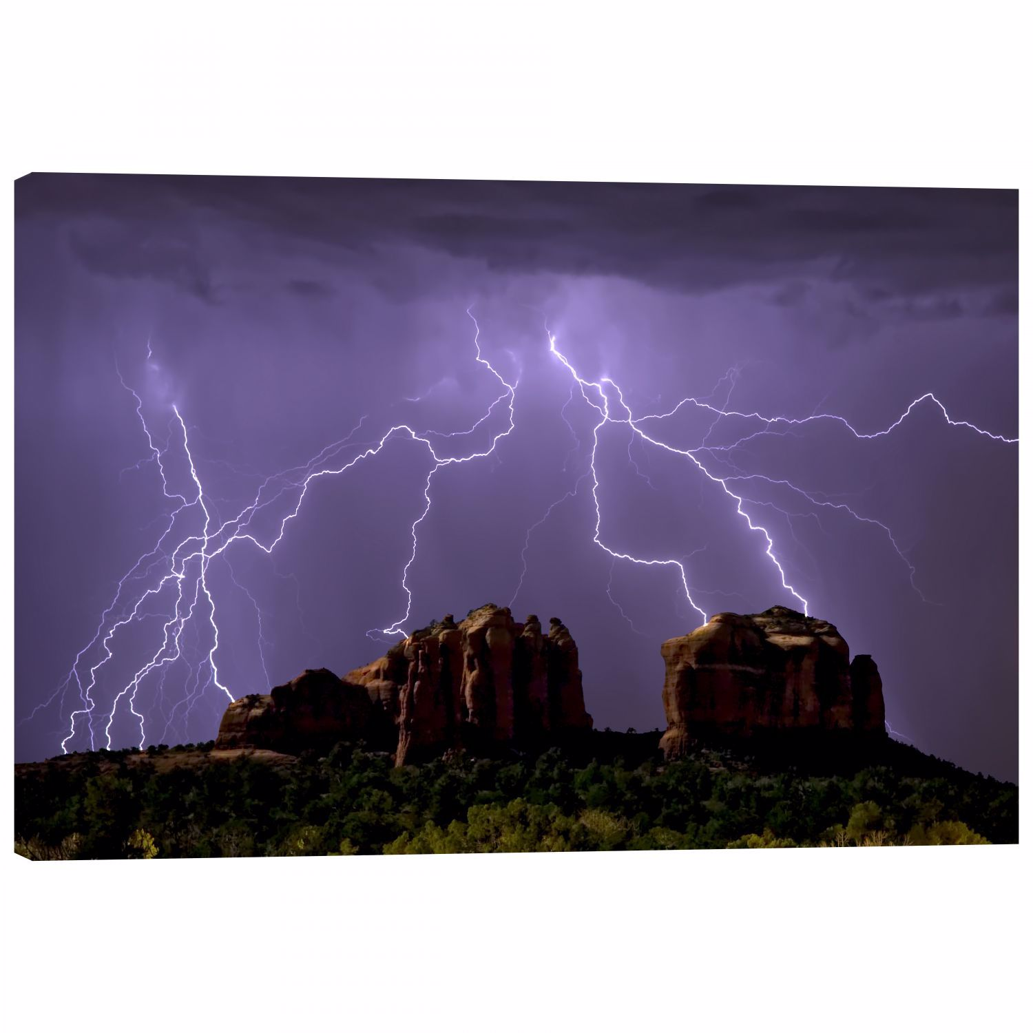 Picture of Monsoon Lightning 48x32 *D