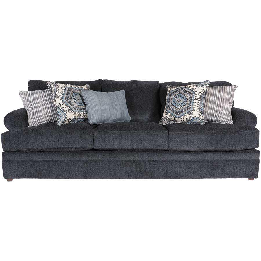 Tremendous Bellamy Slate Blue Sofa Ibusinesslaw Wood Chair Design Ideas Ibusinesslaworg