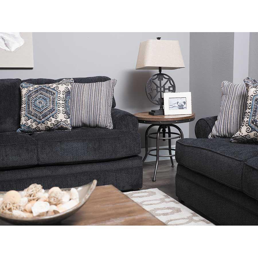Bellamy Slate Blue Sofa