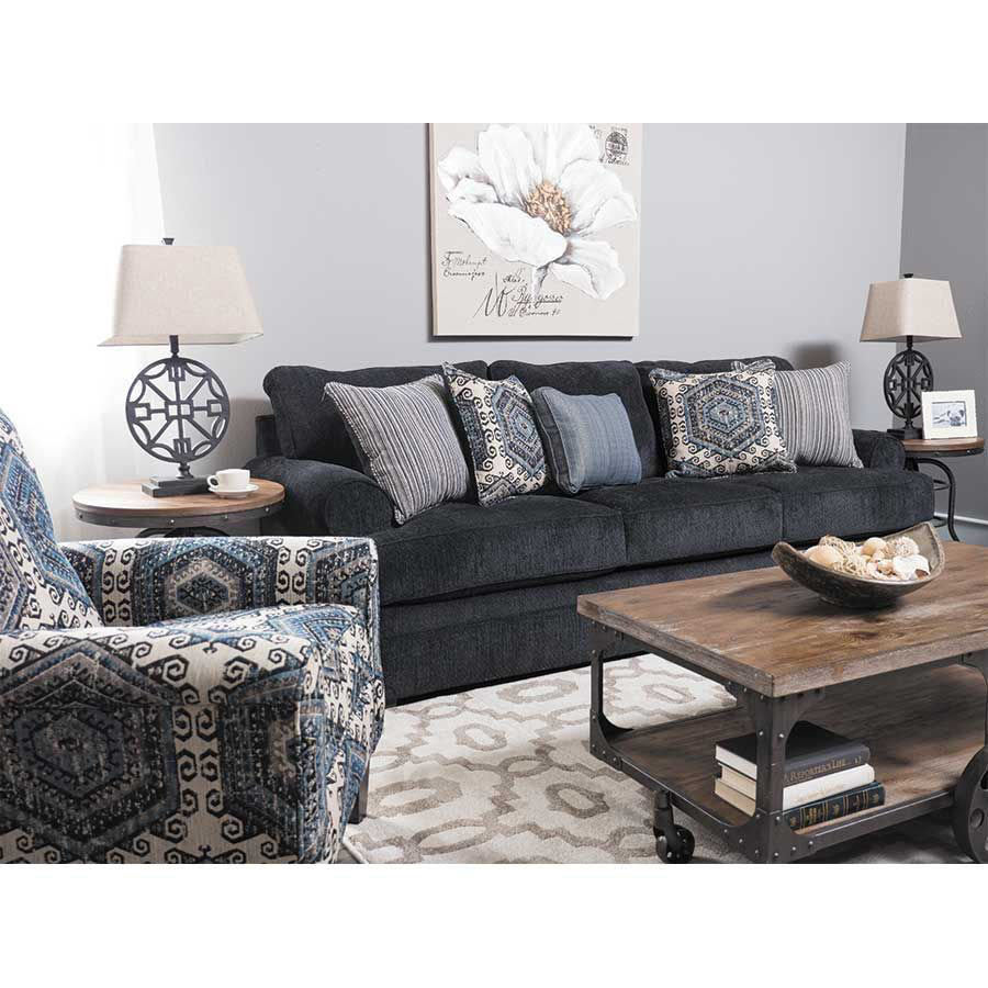 Magnificent Bellamy Slate Blue Sofa Pdpeps Interior Chair Design Pdpepsorg