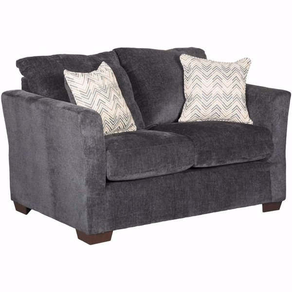 Admirable Webster Slate Loveseat Machost Co Dining Chair Design Ideas Machostcouk