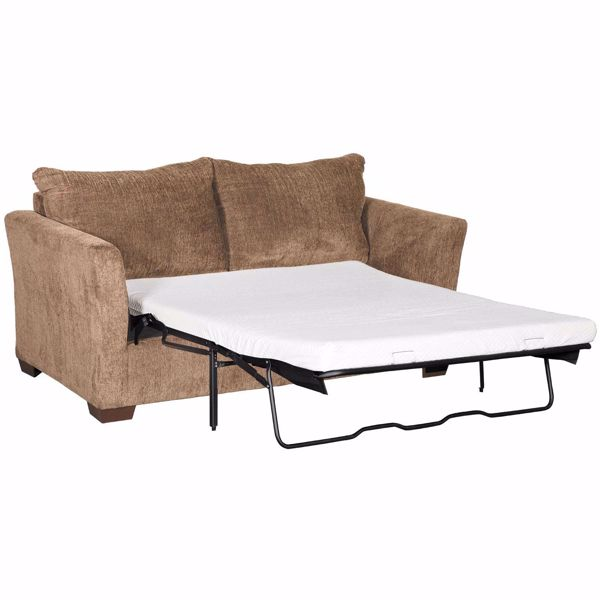 Picture of Webster Coffee Full Sleeper with Memory Foam Mattress