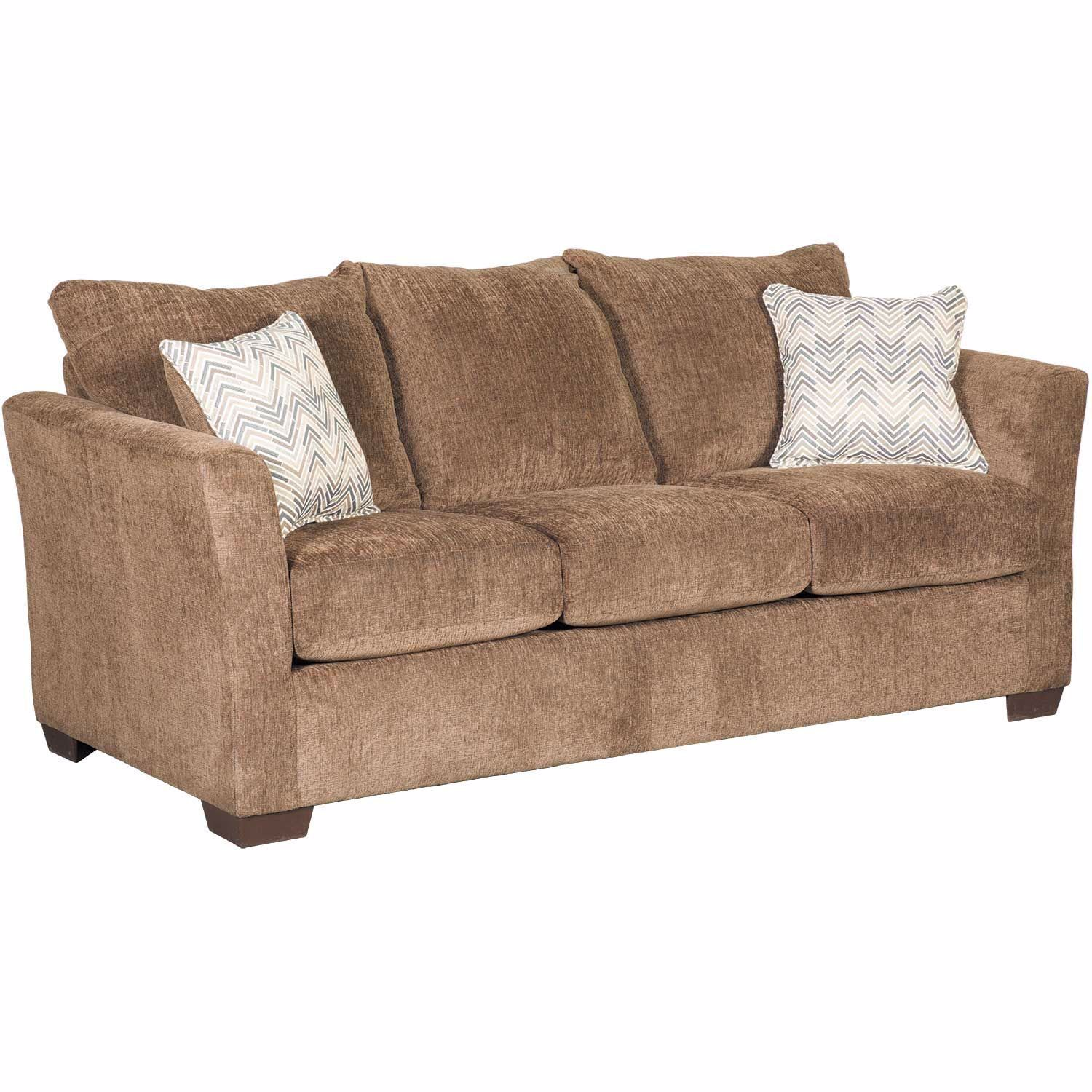 Picture of Webster Coffee Queen Sleeper with Memory Foam Mattress