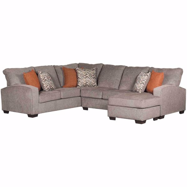 Picture of 2PC Endurance Sectional w/RAF Chaise