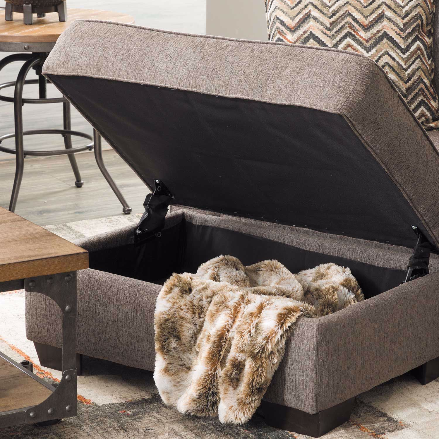 Picture of Endurance Shadow Storage Ottoman