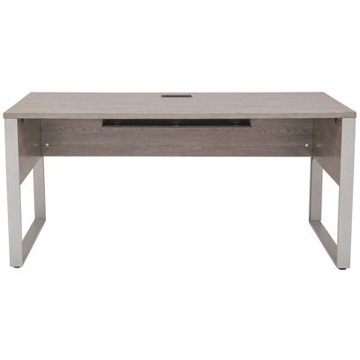 "Picture of Manhattan Open 63"" Modular Desk, Grey"
