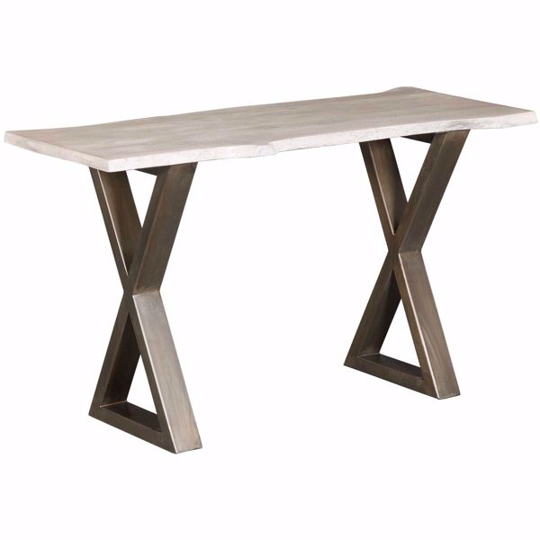 Picture of Iron Wood Console Table