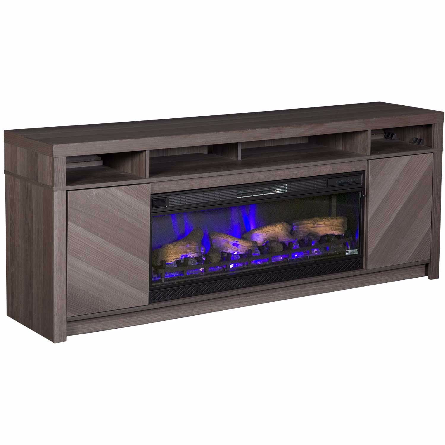 """Picture of Morado Bay 42"""" Fireplace Driftwood Gray"""