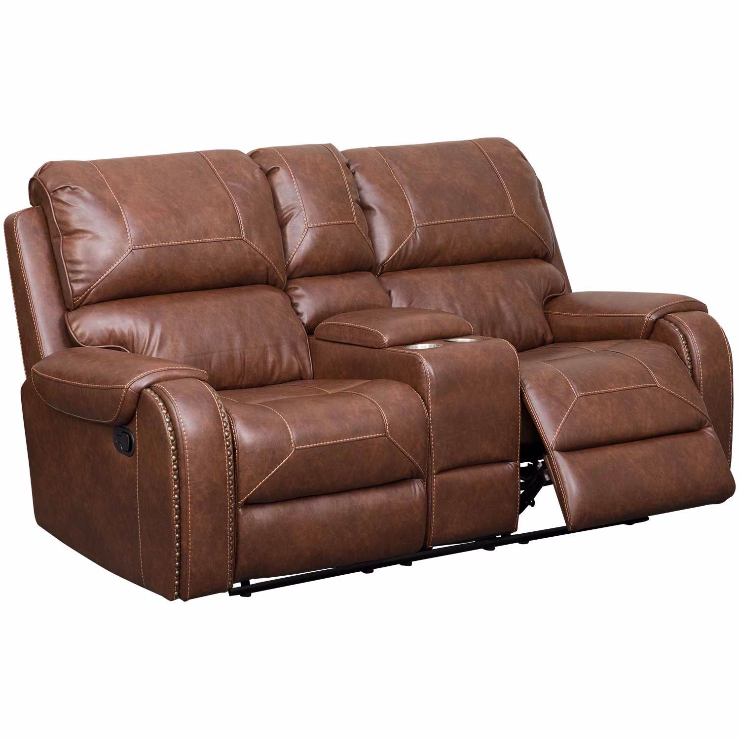 Picture of Clifton Gliding Recline Console Loveseat